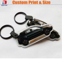 2015Cheap high quality keyring promotional with led light