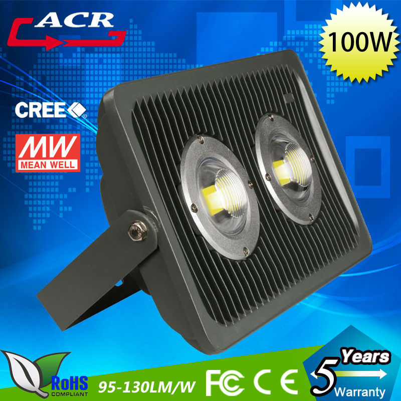 Very good price top quality 100w led flood light outdoor lighting fixture