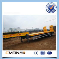 30 40tons Capacity Low Bed Container