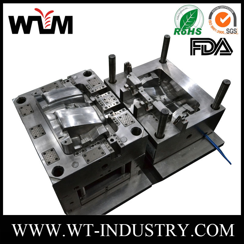 Precision electric mould PP ABS Nylon plastic mold injection molding for Socket part