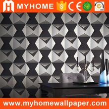 Wholesale Cheap Price Modern Designs PVC Washable 3D Living Room Wallpaper for Home Decoration
