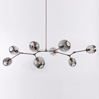 Lindsey Adelman Chandelier Bolle Suspension Lamp