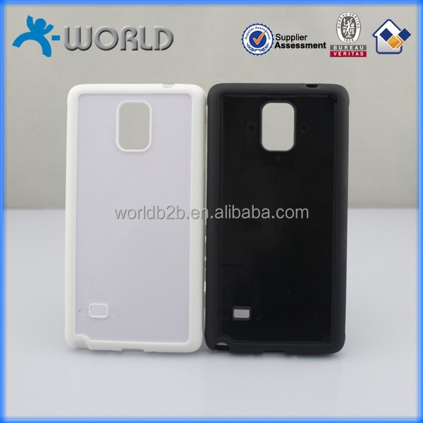 Wholesale price OEM design available plastic back phone case protect for samsung galaxy note 4