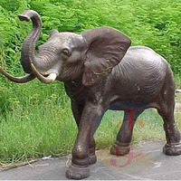 Low Price antique Bronze Elephant sculpture with Best Price