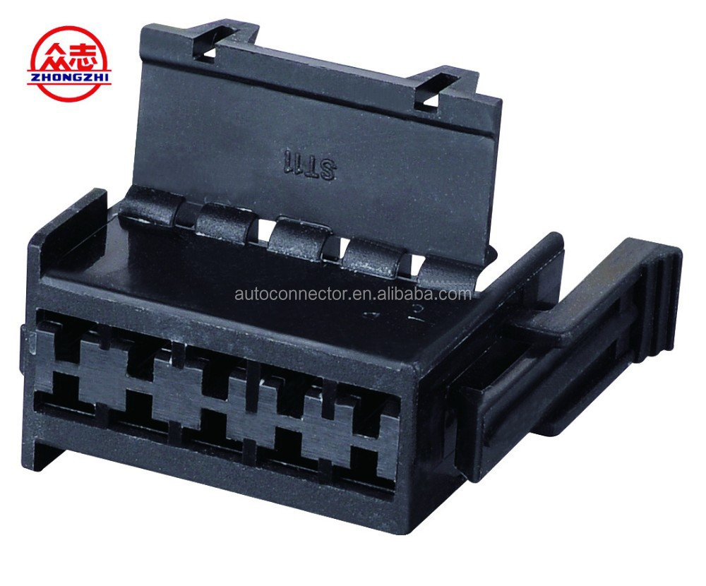 DJ7103Y-3.5-21 Black Socket Connector with 10 / Automotive Plastic Connector