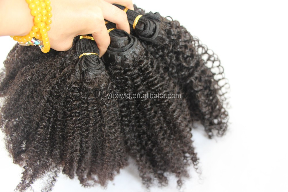 2016 Fashion Virgin Tight Curly hair extensions