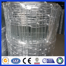 High quality hot dip galvanized 12.5 guage metal farmland field fence (Deming factory, ISO900 certificate)