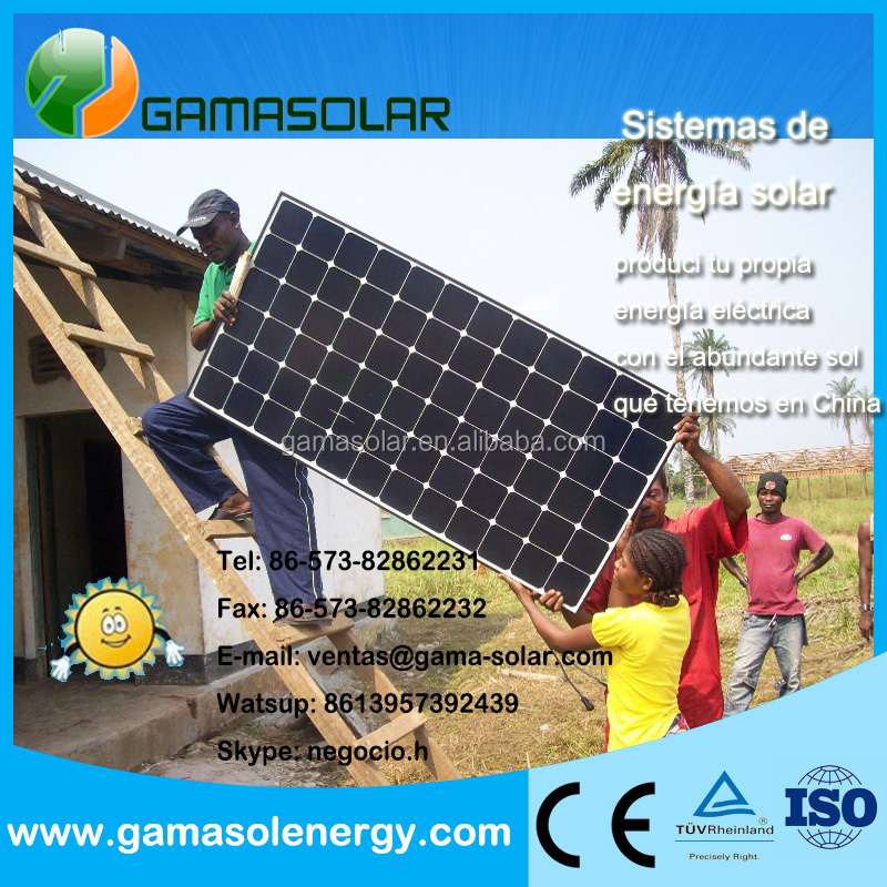 A Grade top quality 6v 12v 4w solar panel small size for Somali