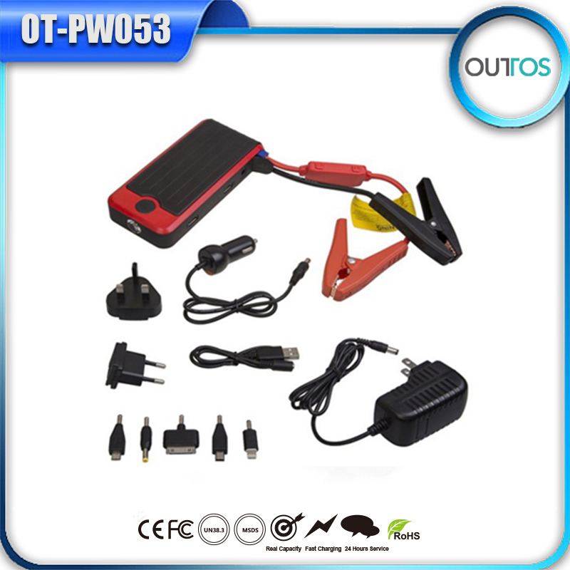 hot new products for 2016 12v car battery charger car jump starter power bank