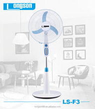 new inventions 18 inch floor fan with remote control 3 speed timer Function