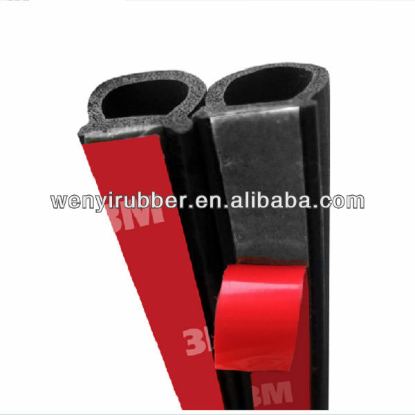 auto adhesive rubber seal strip made in china