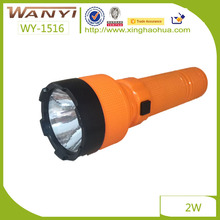 Cheap Plastic Rechargeable Flashlight Working Led Torch, plastic led torch, flashlight