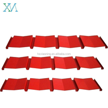 Red Corrugated Color Coated Steel Roofing Sheet