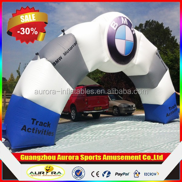 Customized Logo commercial cheap inflatable arch for sale