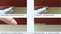 Furniture color marker about furniture's seal edge,sand wear, scratches and white