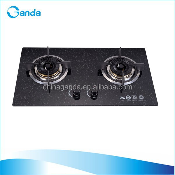 Tempered Glass Top Embedded Kitchen Appliance Gas Hob (GH-K09)