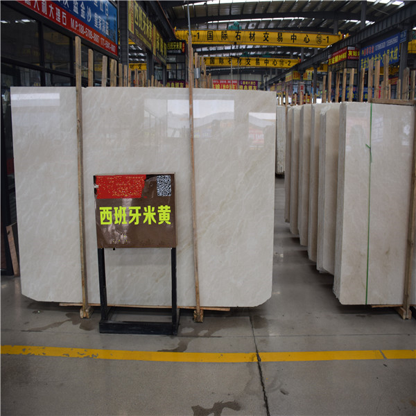 Factory price solid surface natural stone galala beige marble tile