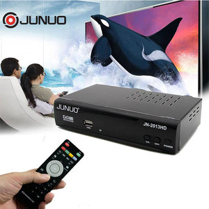 JUNUO shenzhen manufacture Best quality low price 1080p HD mstar 7t01 dvb-t2 tv decoder set top box Nigeria