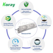 Koray Excellent Material Cheap price led grow light bar 20w led grow light