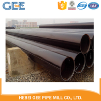 LSAW steel pipe longitudinal submerged arc welded steel pipe for Oil & Gas Pipeline