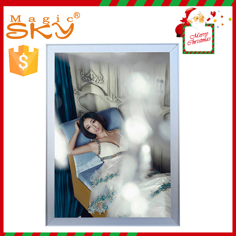 Christmas aluminum snap <strong>frame</strong> top selling products diy <strong>led</strong> sign light box with low price