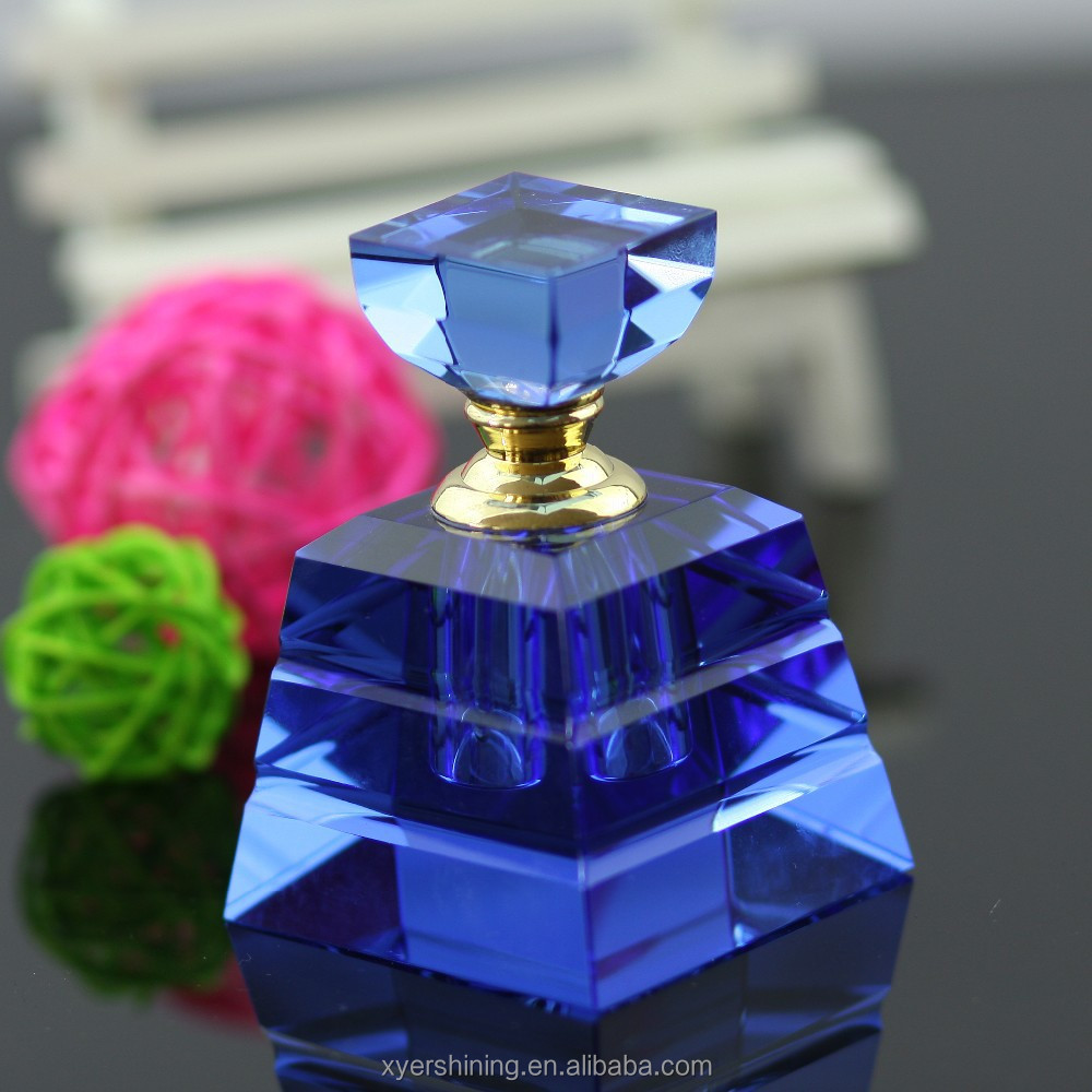 Hot Sell 3ml 6ml 12ml new products crystal perfume bottle for perfume oil