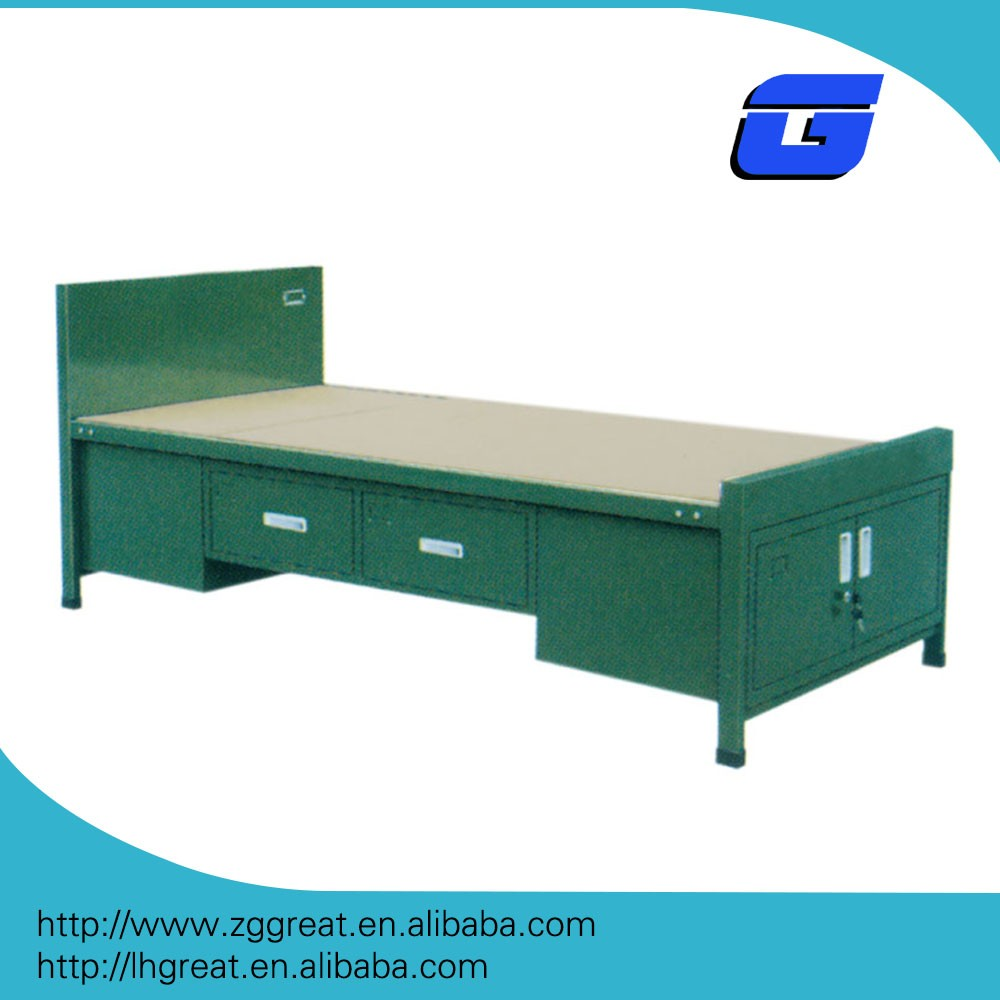 Latest metal bunk bed parts/military bed designs