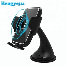 Universal 360 Rotation Mobile Cell Phone Qi Wireless Car Charger Holder