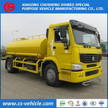 Dongfeng mini trucks 4x2 water tank truck 12000liters water bowser truck