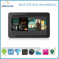 best 9 inch allwinner a23 google android 4.2 tablet pc wall mount for Advertising