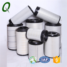 Truck air intake spare parts diesel engine air filter cartridge for Volvo/Iveco/Scania/Man