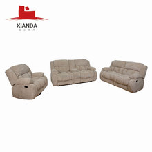 Top selling living room lazy boy swivel recliner sofa set