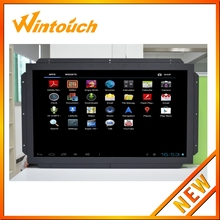 Multi touch screen overlay kit 32 inch 10 point Surface/Projected Capacitive usb multi touch panel kit