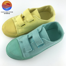 Suger Candy Color Canvas Upper Buckle Strap Fashional Kid's Shoes