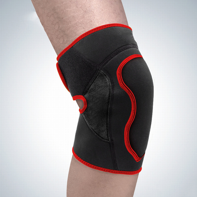 the old cold legs warm anti - collision exercise protective gear riding warm eva thickening knee protection