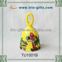 Handpainting decorative souvenir gifts ceramic bell