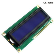 COB STN NEGATIVE and BLUE TRANSMISSIVE LCD 1602 Character 16x2 mono lcd display white display with blue background
