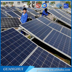 Home use portable cheap price 100w 250w solar panel csa for Canadian Market