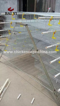 Trade Assurance Automatic Metal Feed Trough Layer Quail Cages