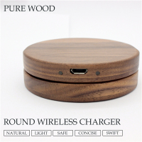 2016 New Wooden QI Wireless Charger for Samsung Galaxy S7/S7 Edge Qi Wireless Phone Charger