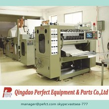 High speed facial tissue paper production line