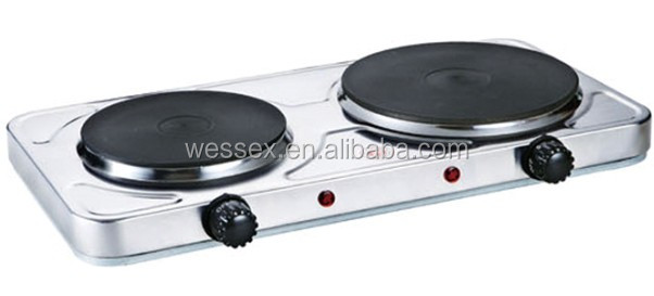 2500W double Electric SOILD Hot Plate with cheap price&2014 new style&