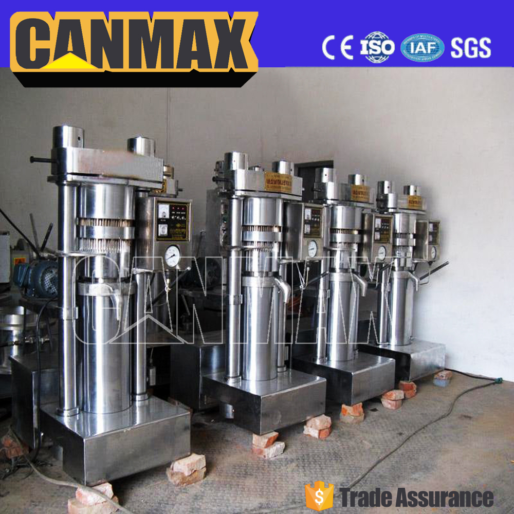 New cotton seed meal hydraulic press pumpkin seed/sunflower seed oil processing machinery