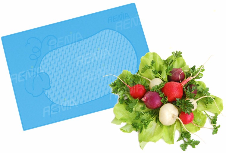 RENJIA silicone drying mat silicone dish mat kitchen silicone dish mat