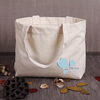ECO friendly canvas boutique shopping bags with custom company logo