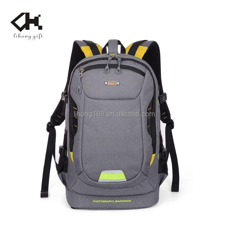 Latest design light weight camera backpack waterproof photography backpack travel hiking backpack
