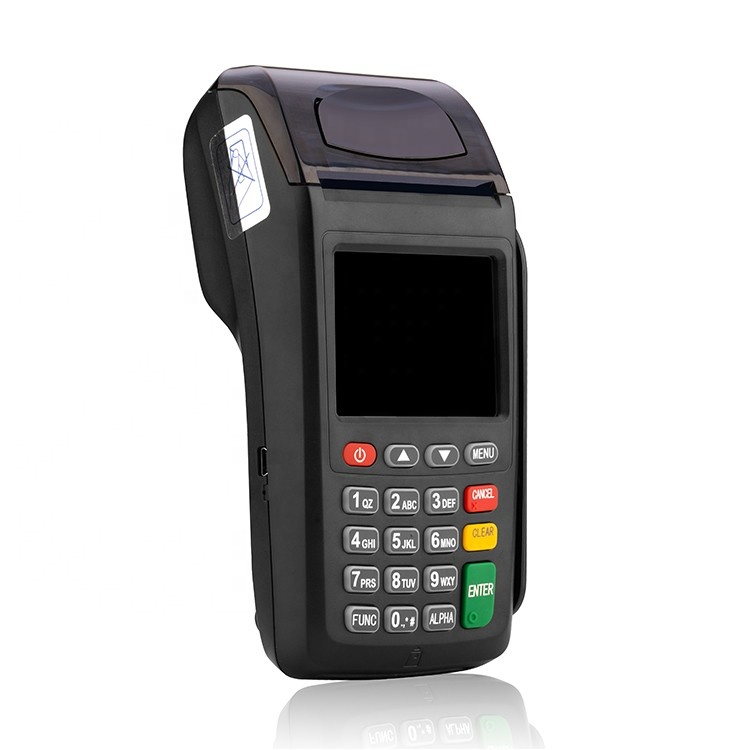 New 7210 Wireless handheld GPRS/CDMA/WIFI pos terminal