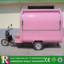 CE approved scooter trailer mobile food vending trailer