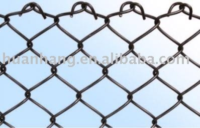 Plastic Coated Tennis Court Chain Link Fence