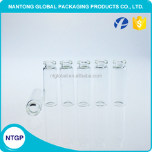 Testing 2ml clear glass tube, 2ml glass vial for perfume